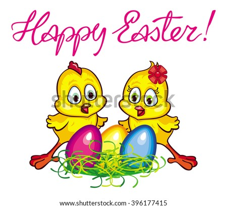 Easter Cartoon Stock Images Royalty Free Images amp Vectors