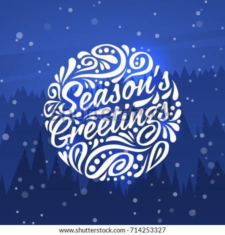 Holiday greeting card typography on background stock vector hd holiday greeting card typography on background stock vector hd royalty free 714253327 shutterstock m4hsunfo