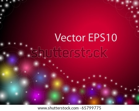 Holiday vector background EPS-10