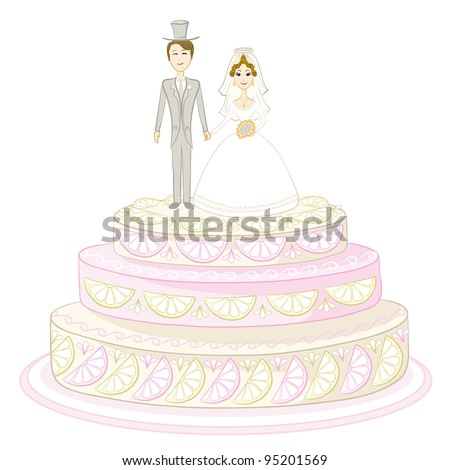 wedding cake vector wedding cake stock vector 286539470 26758