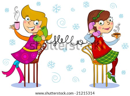 Holiday wishes - stock vector
