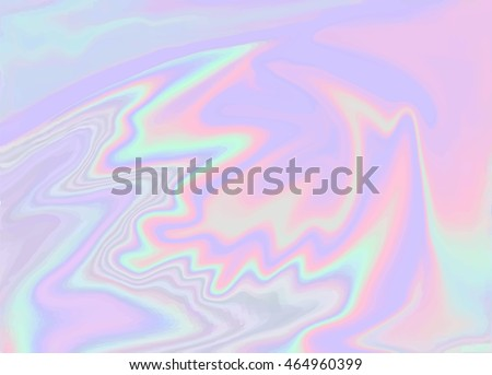 Holographic abstract background in pastel / neon color design. Vector illustration for your modern style trends 80s / 90s background for creative project design : fashion. cover, book, printing & more - stock vector