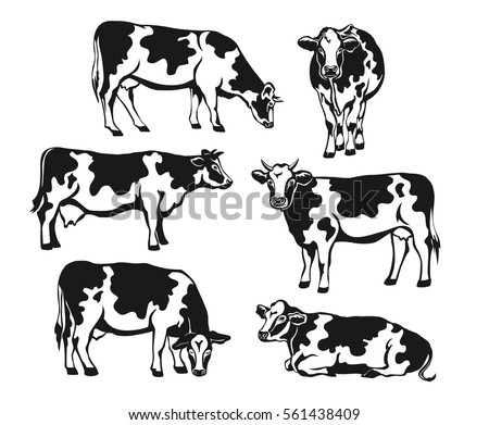cow side view coloring pages - photo#38