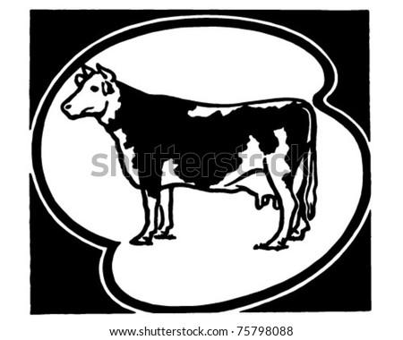 Holstein Cow Stock Vectors, Images & Vector Art | Shutterstock