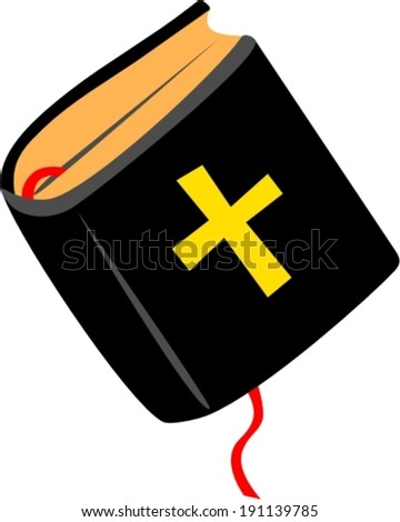 Holy Bible - Illustration - stock vector