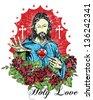 Holy love - stock
