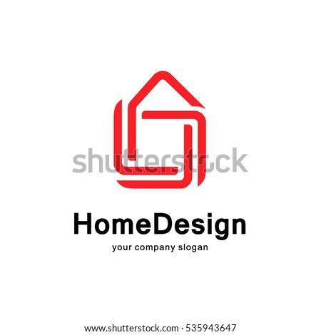 Home Design Logo Concept