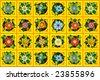 Home flowers raster image illustration - stock vector