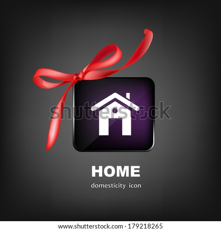 Home for Family.Business Design.Happiness Concept.Vector  - stock vector