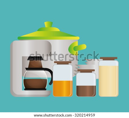 Home Kitchen concept  about supplies icons design, vector illustration 10 eps graphic.