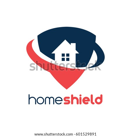 home shield logo stock vector 601529891 shutterstock