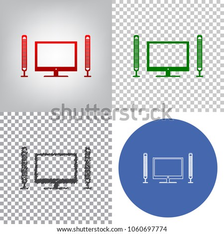 Home Theater Diagram Transparent Background - House Wiring Diagram ...