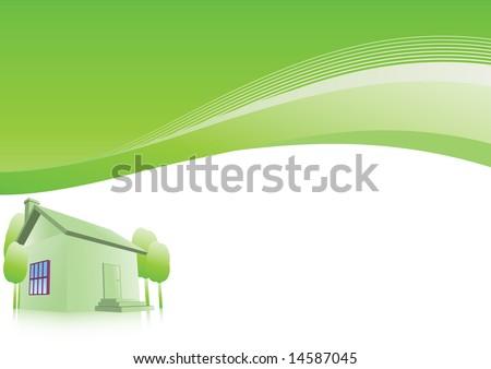 Home. Vector. - stock vector
