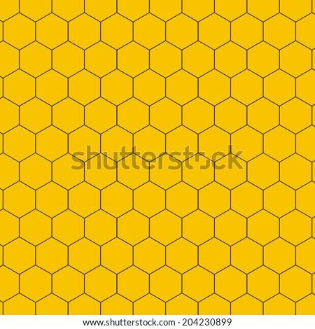 Honeycomb - vector - stock vector