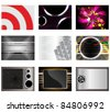 horizontal abstract  Vector backgrounds - stock vector