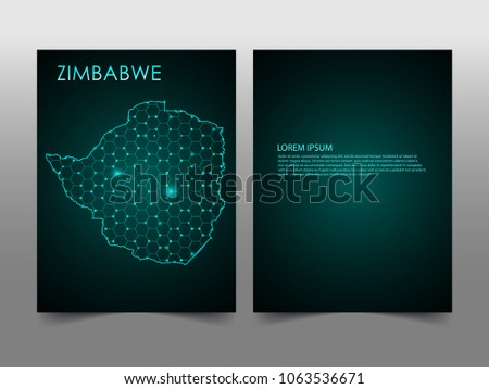 Horizontal banners template zimbabwe map sphere stock vector horizontal banners template with zimbabwe map sphere vector illustration abstract business card vector template with reheart Image collections