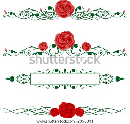 Rose Vine Stock Images...