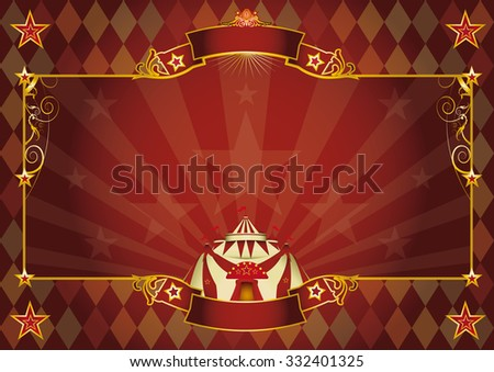Horizontal rhombus circus background. A Horizontal rhombus circus background for your show. Perfect size for a screen. - stock vector