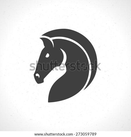 Horse Face Logo Horse Face Logo Emblem