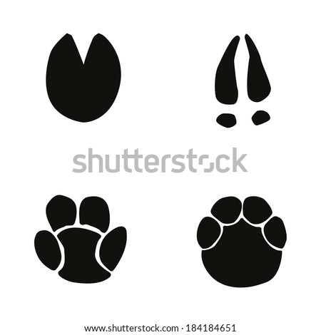 Wildlife as well 1268662 Royalty Free Animal Tracks Clipart Illustration as well Search further Animal Tracks 02 1257748 likewise Old Flat Track. on deer tracks clip art