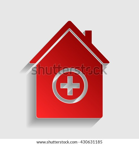 Hospital sign illustration