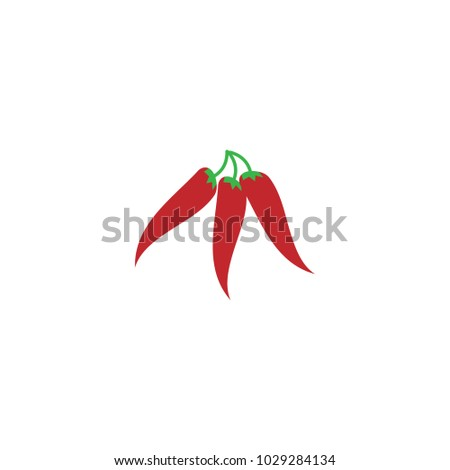 Hot Chili Pepper Graphic Template Vector Stock Vector (2018 ...