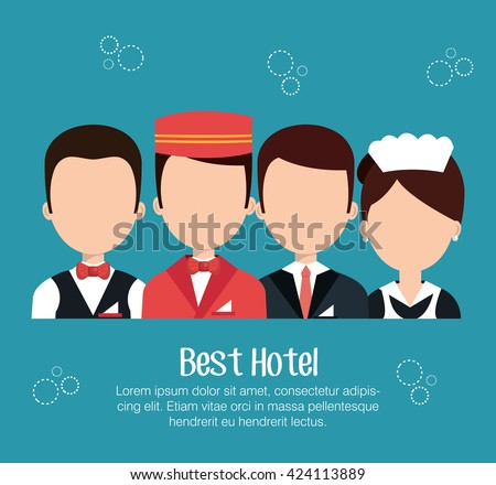 Hotel Staff Stock Images Royalty Free Vectors