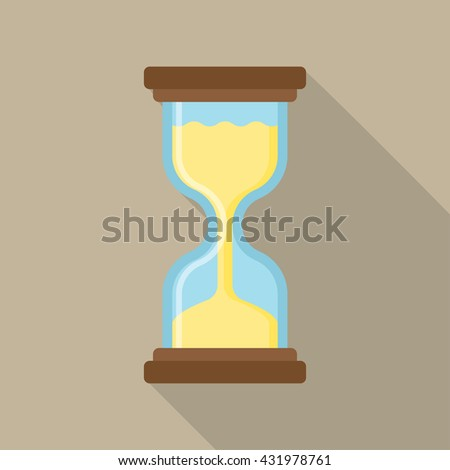 hourglass icon flat Simple and elegant hourglass vector,Hourglass Icon, hourglass icon flat, hourglass icon picture, hourglass icon vector, hourglass icon graphic, hourglass icon object. - stock vector