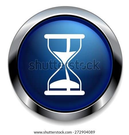 Hourglass icon. Sand timer symbol. - stock vector