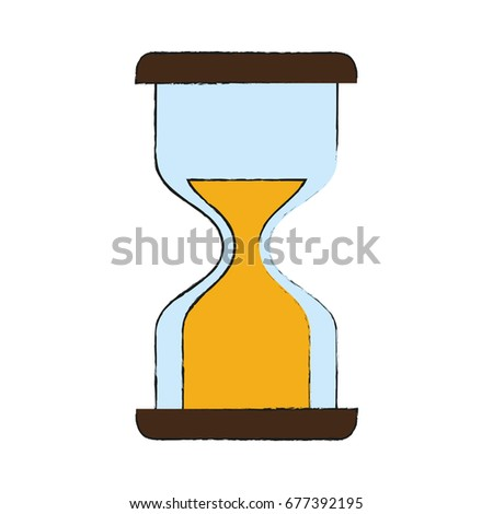 hourglass or sandglass icon image