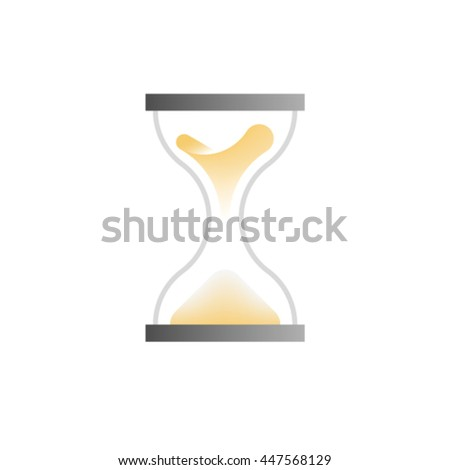 Hourglass, vector icon