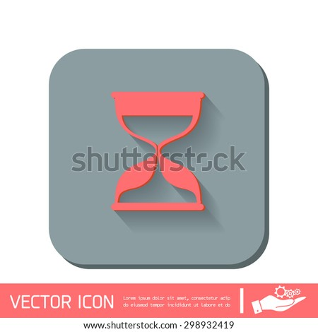 hourglass waiting, icon expectations