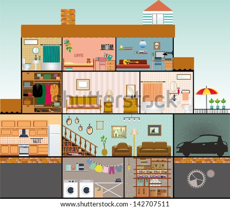 Interior house stock photos images amp pictures shutterstock