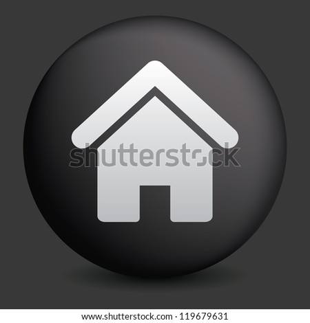 house button, signs, icons set, vector - stock vector