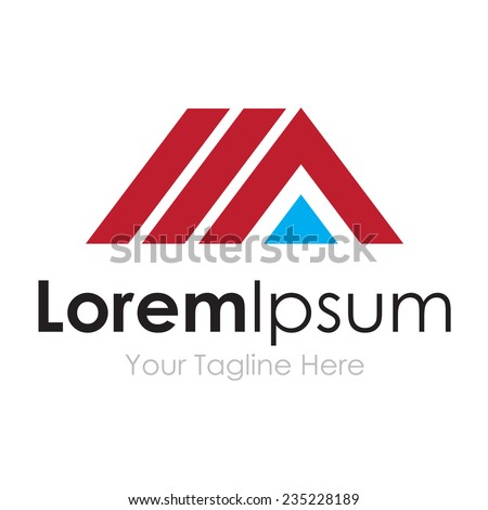 House construction building innovative solutions concept elements icon logo - stock vector