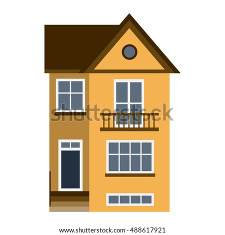 House front view stock images royalty free images for Building house with side views