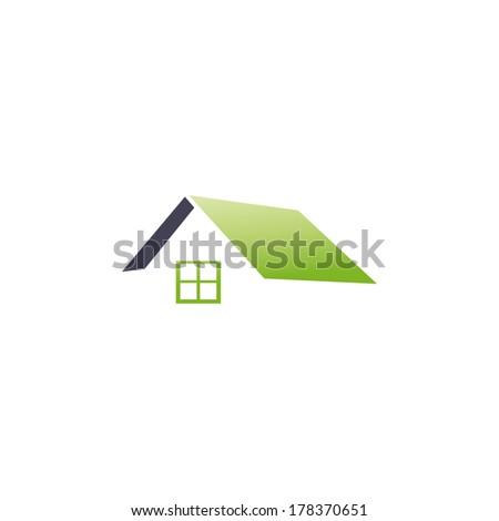 house icon - stock vector