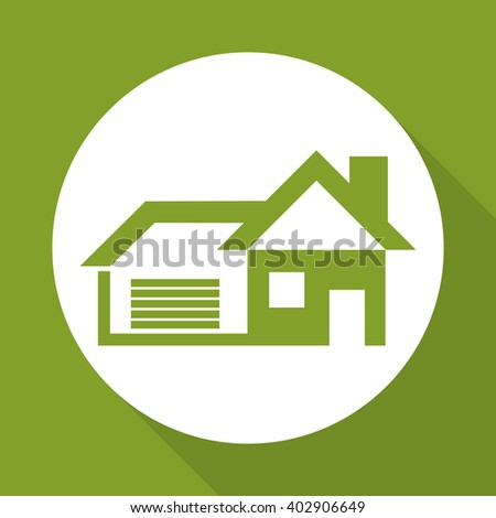 House icon design, vector illustration