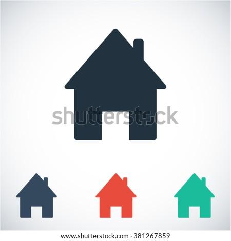 House  icon, house  vector icon, house  icon illustration, house  icon eps, house  icon jpeg, house  icon picture, house  flat icon, house  icon design, house  icon web, house  icon art, house ui icon - stock vector