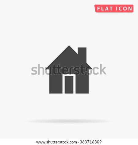 House Icon Vector.  - stock vector
