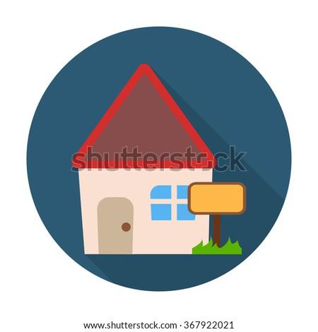 House Icon Vector. House Icon Flat. House Icon App. House Icon Web. House Icon Logo. House Icon Sign. House Icon Symbol. House Icon Object. House Icon Shape. House Icon Image. House Icon Color. - stock vector