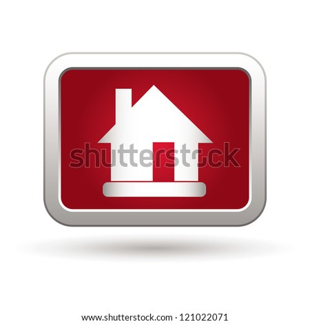 House Icon. Vector illustration - stock vector