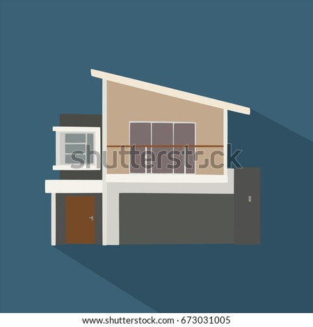 House icon, vector illustration design. Residential houses collection.