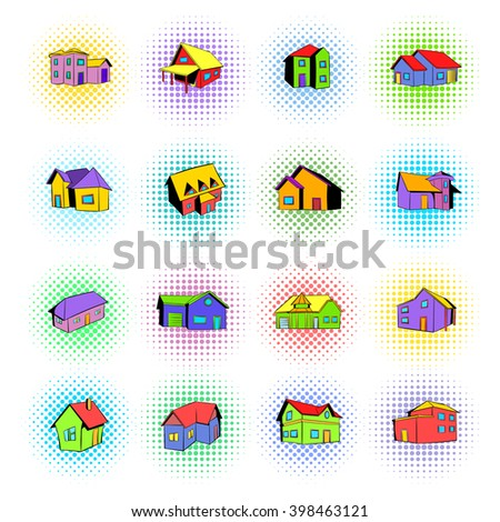 House icons set. House icons art. House icons web. House icons new. House icons www. House icons app. House icons big. House set. House set art. House set web. House set new. House set www - stock vector