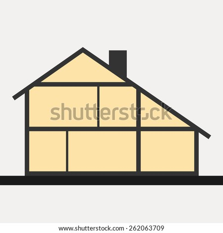 House Cross Section Stock Images Royalty Free Images