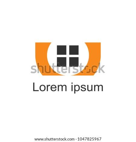 House Logomodern Designvector Illustration Stock Vector 1047825967