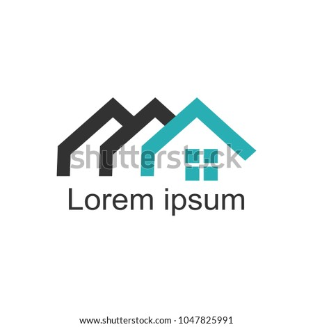 House Logomodern Designvector Illustration Stock Vector 1047825991