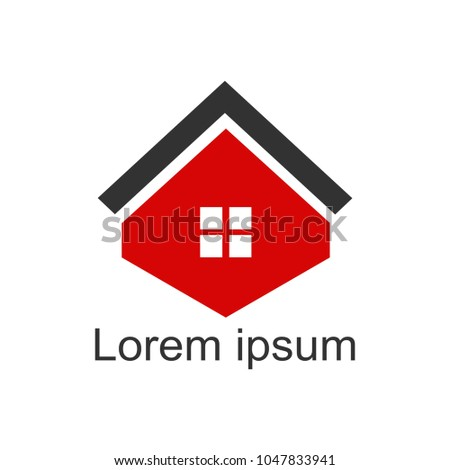 House Logomodern Designvector Illustration Stock Vector 1047833941