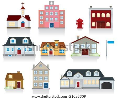 House Vector Icon - stock vector