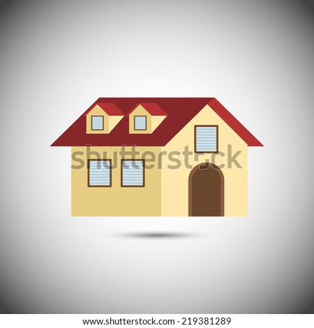 House. Vector Illustration